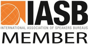 SAGE is a member of International Association of Speakers Bureaus (IASB)