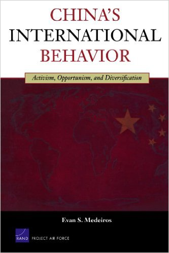 Dr. Evan Medeiros: China International Behavior