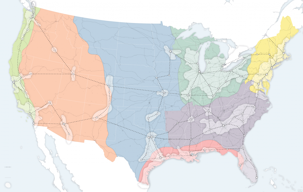 New Map Of America.Parag Khanna A New Map For America Sage Worldwide