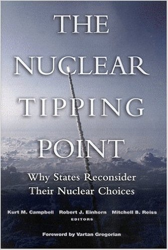 """Taiwan's 'Hsin Chu' Program: Deterrence, 'Abandonment' and Honor,"" from The Nuclear Tipping Point: Why States May Reconsider Their Nuclear Choices.  Brookings Institution Press, 2004."