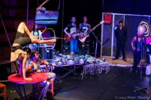 "Phare: The Cambodian Circus will perform ""Khmer Metal"" at the 2015 Ringling International Arts Festival.     Photo by Peter Phoeng"