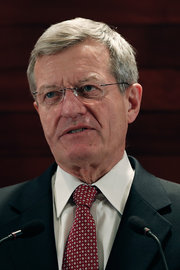 Max Baucus, the United States ambassador to China. Credit Lintao Zhang/Getty Images