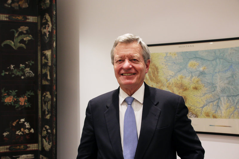 "U.S. Ambassador to China Max Baucus, a former Montana senator, recently became the first American envoy to China to visit all of the country's provinces. ""We Americans have an obligation to come to China, to learn more about China,"" he tells NPR. ""Why? Because with each passing day, it's going to be more and more in our future."" Anthony Kuhn/NPR"