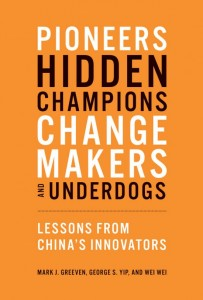 Pioneer's, Hidden Champions, Change Makers and Underdogs
